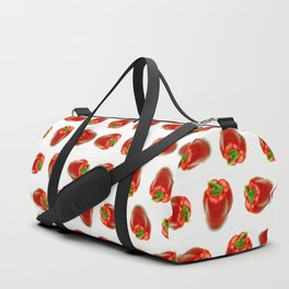 Red peppers pattern Duffle Bag