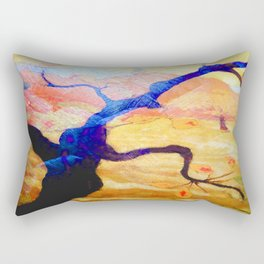 Treescape Abstract #1 Rectangular Pillow