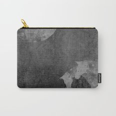 Moon with Horses in Grays Carry-All Pouch