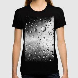 water drops T-shirt