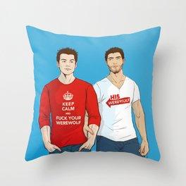 keep calm 01 Throw Pillow