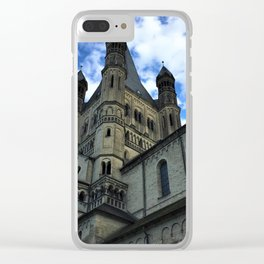 St. Martin Church in Cologne, Germany Clear iPhone Case