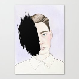 Hiding #1 Canvas Print