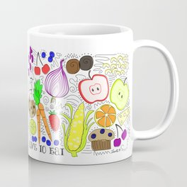 Live to Eat Coffee Mug