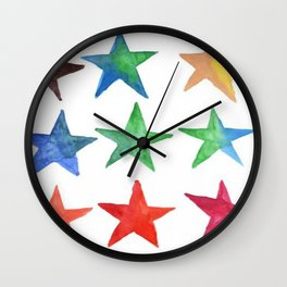 watercolor Wall Clock