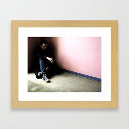 In the Corner #3 Framed Art Print