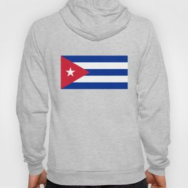 National flag of Cuba - Authentic version Hoody