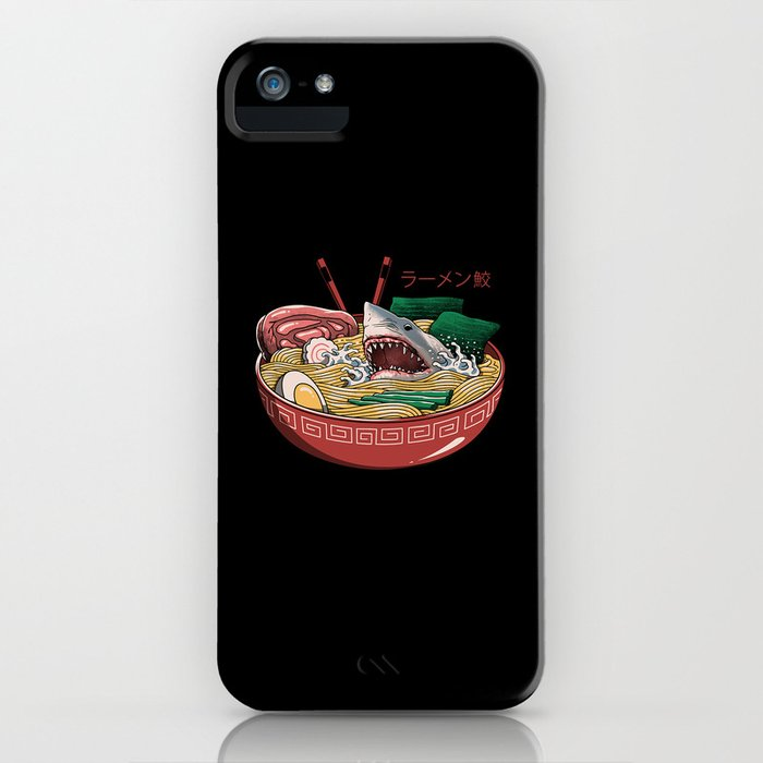 Ramen Shark iPhone Case