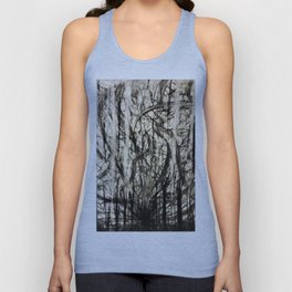 Lost in a Chaos Forest Unisex Tank Top