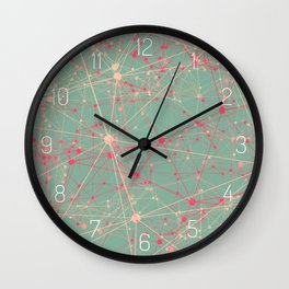LINK abstract I Wall Clock