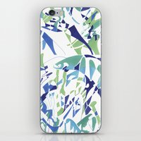 dolphins iPhone & iPod Skins featuring DOLPHINS by Alex Rocha