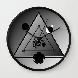 SIGIL OF DEVOTION Wall Clock