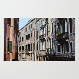 Venice the city of Canals Rug