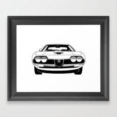 Alfa Romeo Montreal Framed Art Print