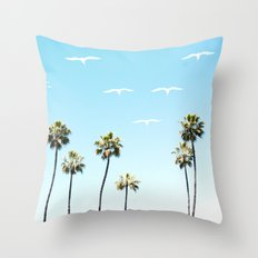A California Summer  Throw Pillow