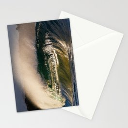 Wedge Barrel Offshore Winds  Stationery Cards