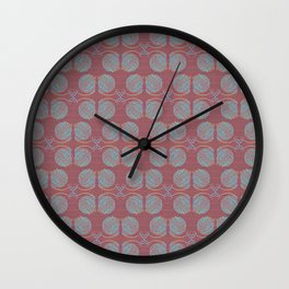Knitting Bright Wall Clock