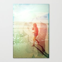 Summer in February Canvas Print
