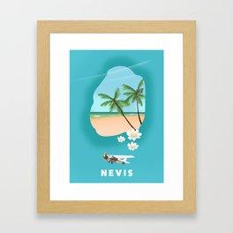 Nevis Framed Art Print