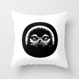 meh.ro logo Throw Pillow
