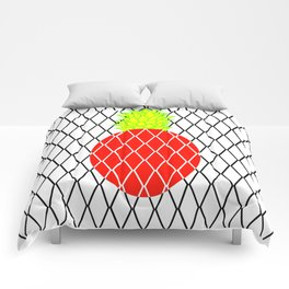 DIAMANTE PINEAPPLE RED Comforters