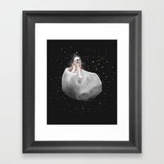 Lost in a Space / Phobosah Framed Art Print
