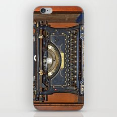 Typewriter2 iPhone & iPod Skin