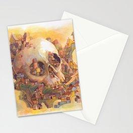 Skull City Stationery Cards
