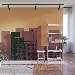 Sunset over San Francisco Wall Mural