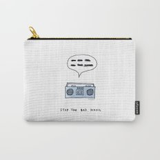 Stop the bad music Carry-All Pouch