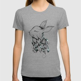 Poetic Rabbit T-shirt