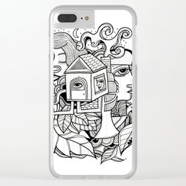 Fiction Clear iPhone Case