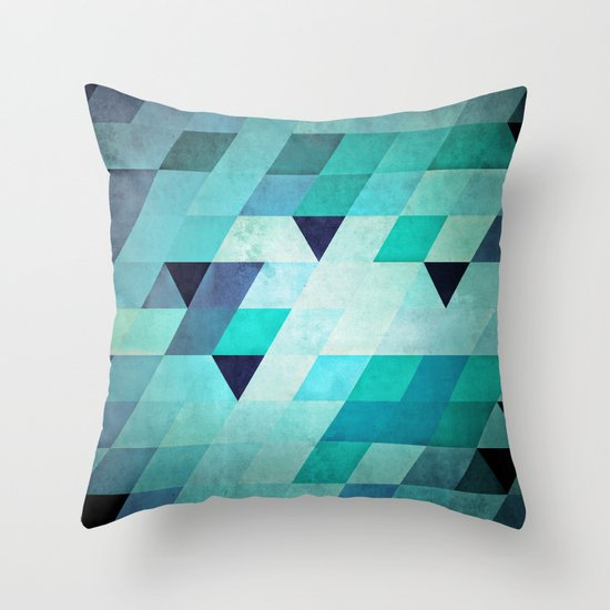 frysty Throw Pillow