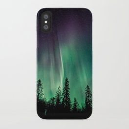 Aurora Borealis (Heavenly Northern Lights) iPhone Case