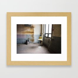 Lonely Chair Framed Art Print