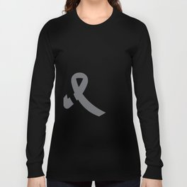 Brain Cancer Support Dad Long Sleeve T-shirt