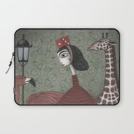 Sunday Excursion to the Zoo Laptop Sleeve