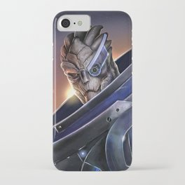 Garrus Vakarian Portrait - Mass Effect iPhone Case