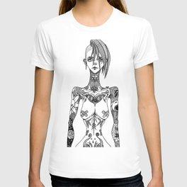 Tattoo girl T-shirt