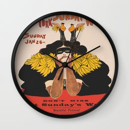Vintage New York Magazine  Wall Clock