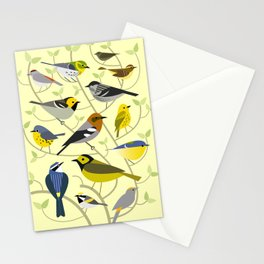 New World Warblers 2 Stationery Cards