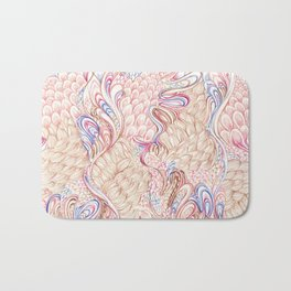 Feathers and fur Bath Mat