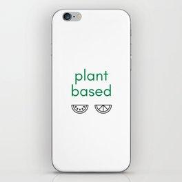 PLANT BASED - VEGAN iPhone Skin