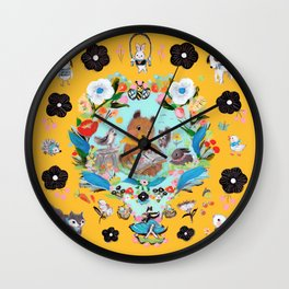 Reading Time Wall Clock