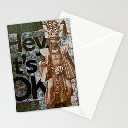 The No Worry Warrior Stationery Cards