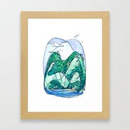 Rincon Hills Framed Art Print