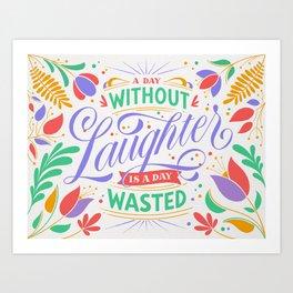 Laughter Art Print