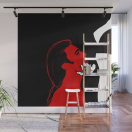 The Blood Madam Wall Mural