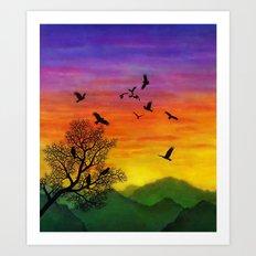 Eagles Art Print