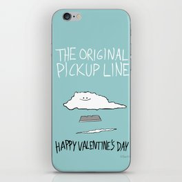 The Original Pickup Line iPhone Skin